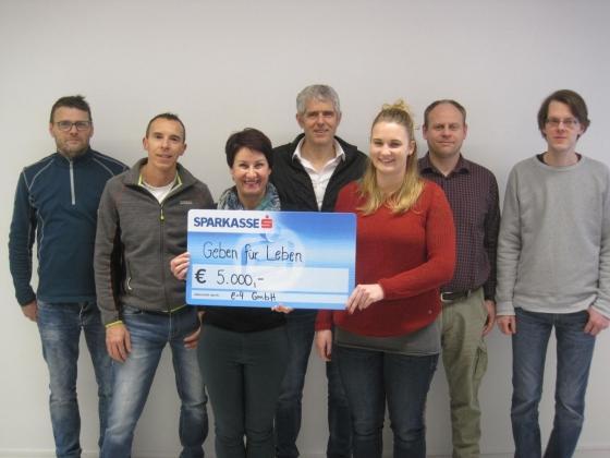 e-4 Bauchemie GmbH unterstützt mit € 5.000,-