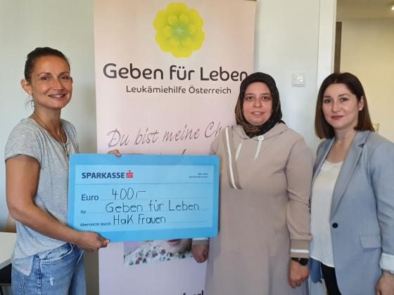 € 400,- vom VereinHaK - Heimat aller Kulturen