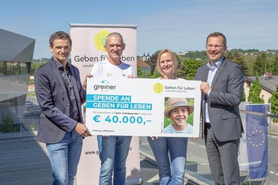 € 40.000,- durch neue Kooperation mit Greiner Bio-One