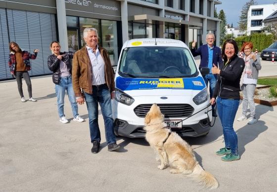 Vereinsauto für österreichweite Aktionen gesponsert