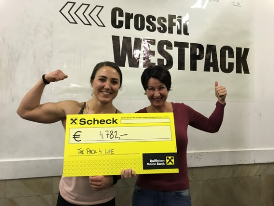 € 5.022,- durch Crossfit Westpack