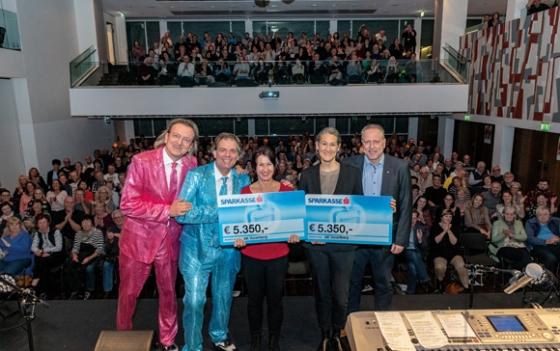 € 5.350,- nach Kabarett der AK Vorarlberg