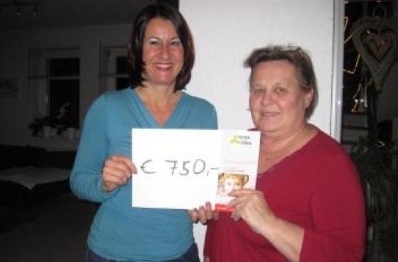 € 750 von Familie Blum!