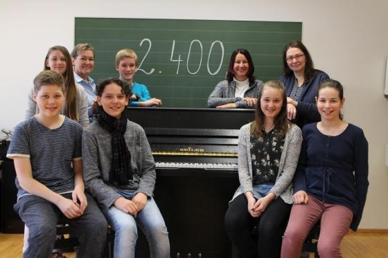 Weihnachts-CD aus Lingenau bringt € 2.400,- ein