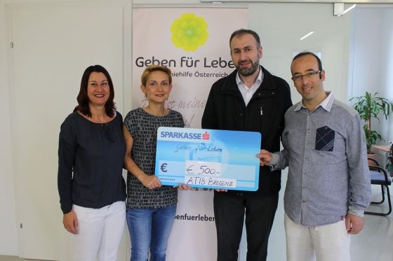 ATIB Bregenz spendet € 500!