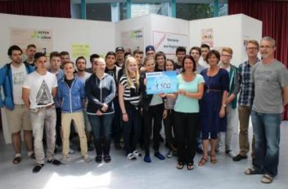 SchülerInnen sammeln € 1500!