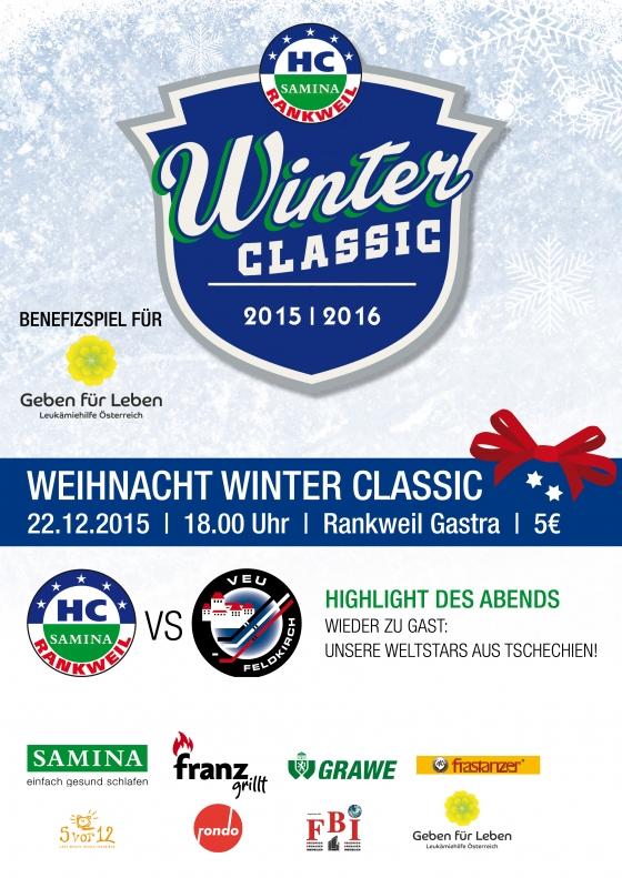 HC Samina Winter Classic gegen VEU Feldkirch