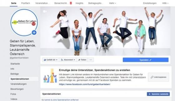 Über € 9.000,- durch Spendenaktionen auf Facebook