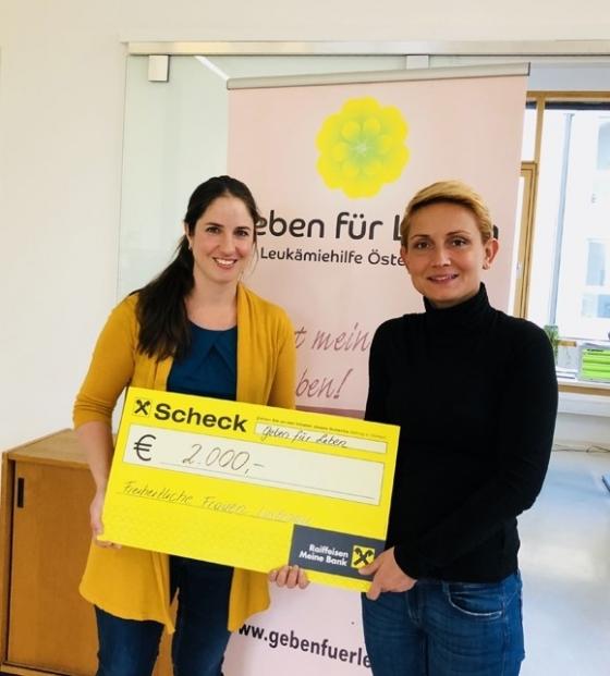 € 2.000,- von Freiheitlichen Frauen Lustenau