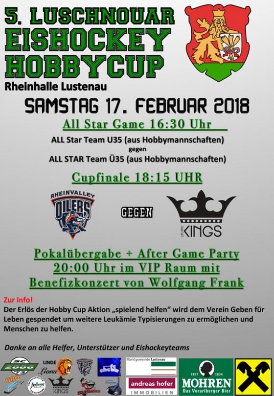 Benefiz: Luschnouar Eishockey Hobbycup