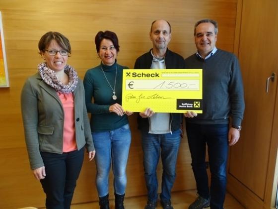 € 1.500,- von Ulrich Nussbaumer aus Sulzberg
