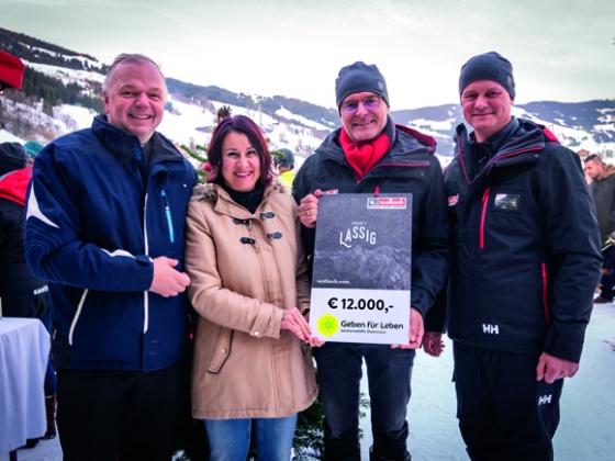 € 12.000 von Hinterglemmer Bergbahnen