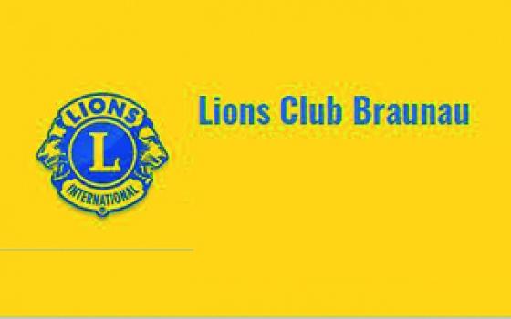 € 1.000,- vom Lions Club Braunau