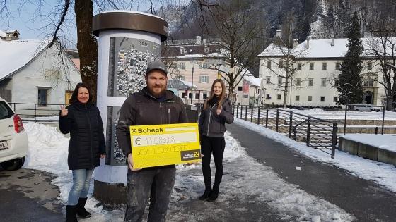 € 13.085 nach Schlossberg366-Aktion von Erik Winkler