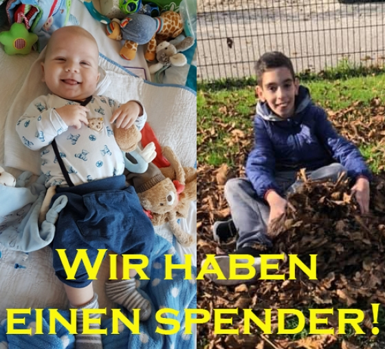 Michael und Talha haben einen Spender!!!