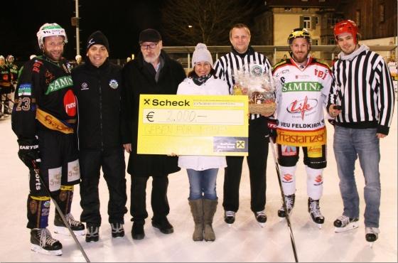 HC Samina und VEU Feldkirch spielen für den guten Zweck