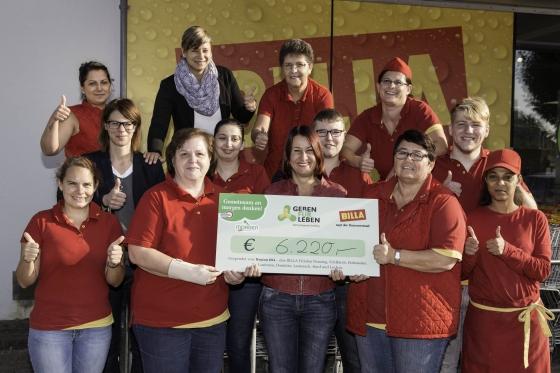 Erfolgreiche Firmenaktion von Billa in Vorarlberg