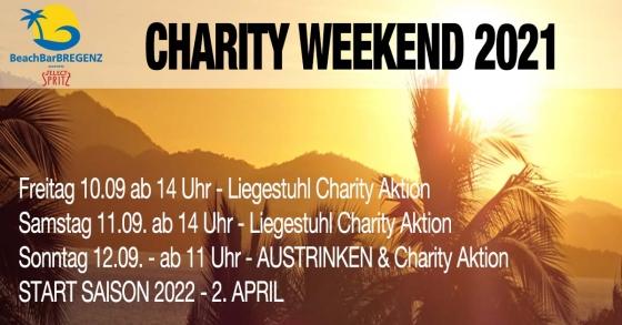 Liegestuhl &Austrinken - Charity in der BeachBar Bregenz