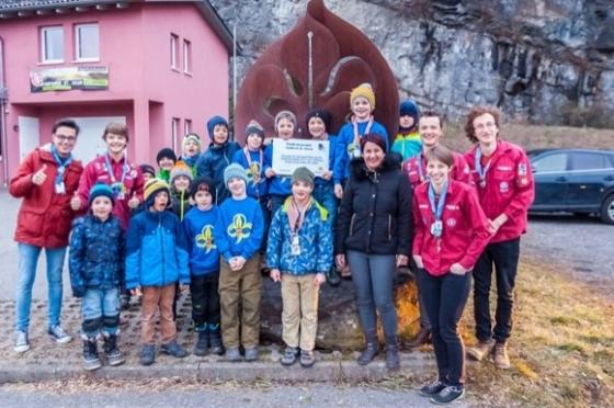 € 3.300,- von Pfadfindergruppe St. Georg in Feldkirch