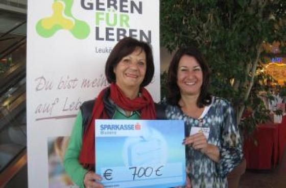 € 700 von Gerlinde Wiedemann!
