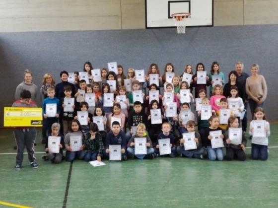 Volksschule Lustenau Rotkreuz spendet € 2.000,-