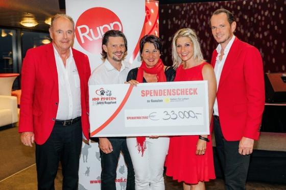 Unglaubliche € 40.000,- von Rupp Food