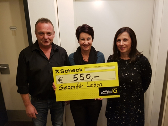 Steg3 in Hard spendet € 550,-