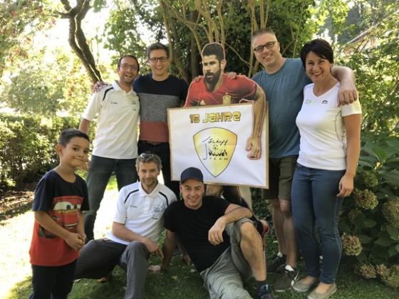 12 Typisierungen beim First Schopf Soccer Team