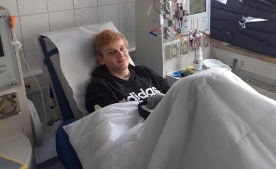 Unser 169. Spenderist Lukas aus Tirol