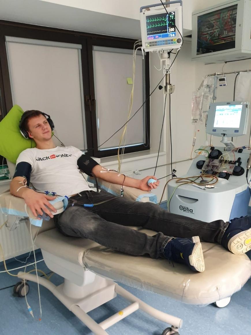 'Vorarlberger spendet Stammzellen nach Südeuropa'-Bild-1