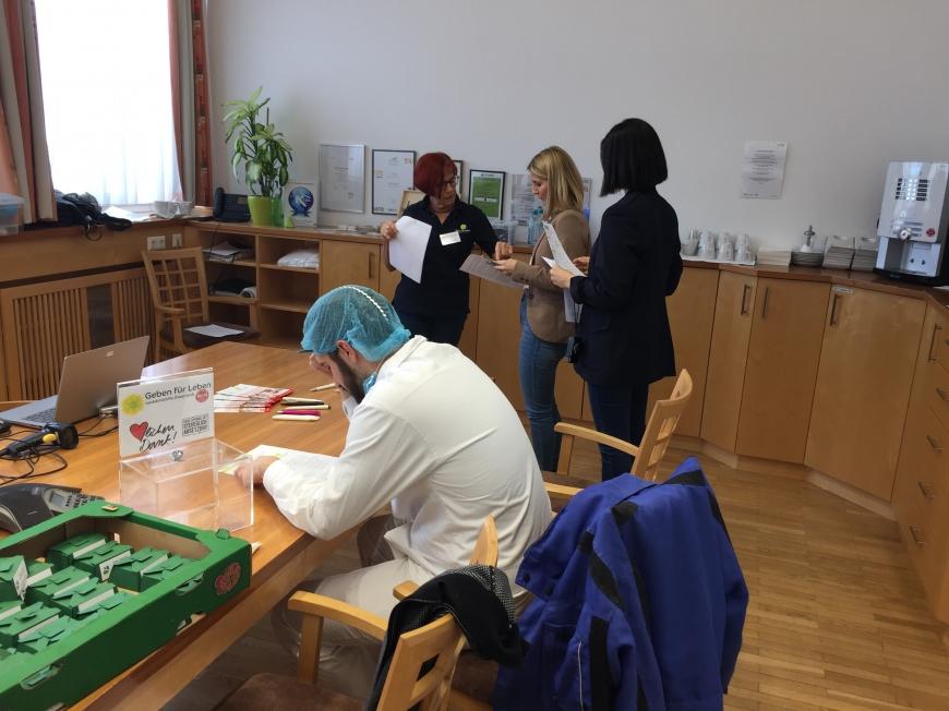 'Steirisches Unternehmen unterstützt MitarbeiterInnen-Typisierung für den guten Zweck'-Bild-1