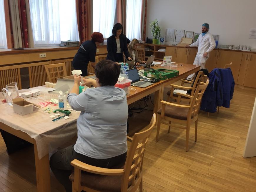 'Steirisches Unternehmen unterstützt MitarbeiterInnen-Typisierung für den guten Zweck'-Bild-6