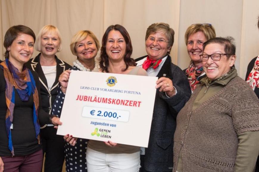 'Lions Fortuna Vorarlberg spendet € 2000,-!'-Bild-1
