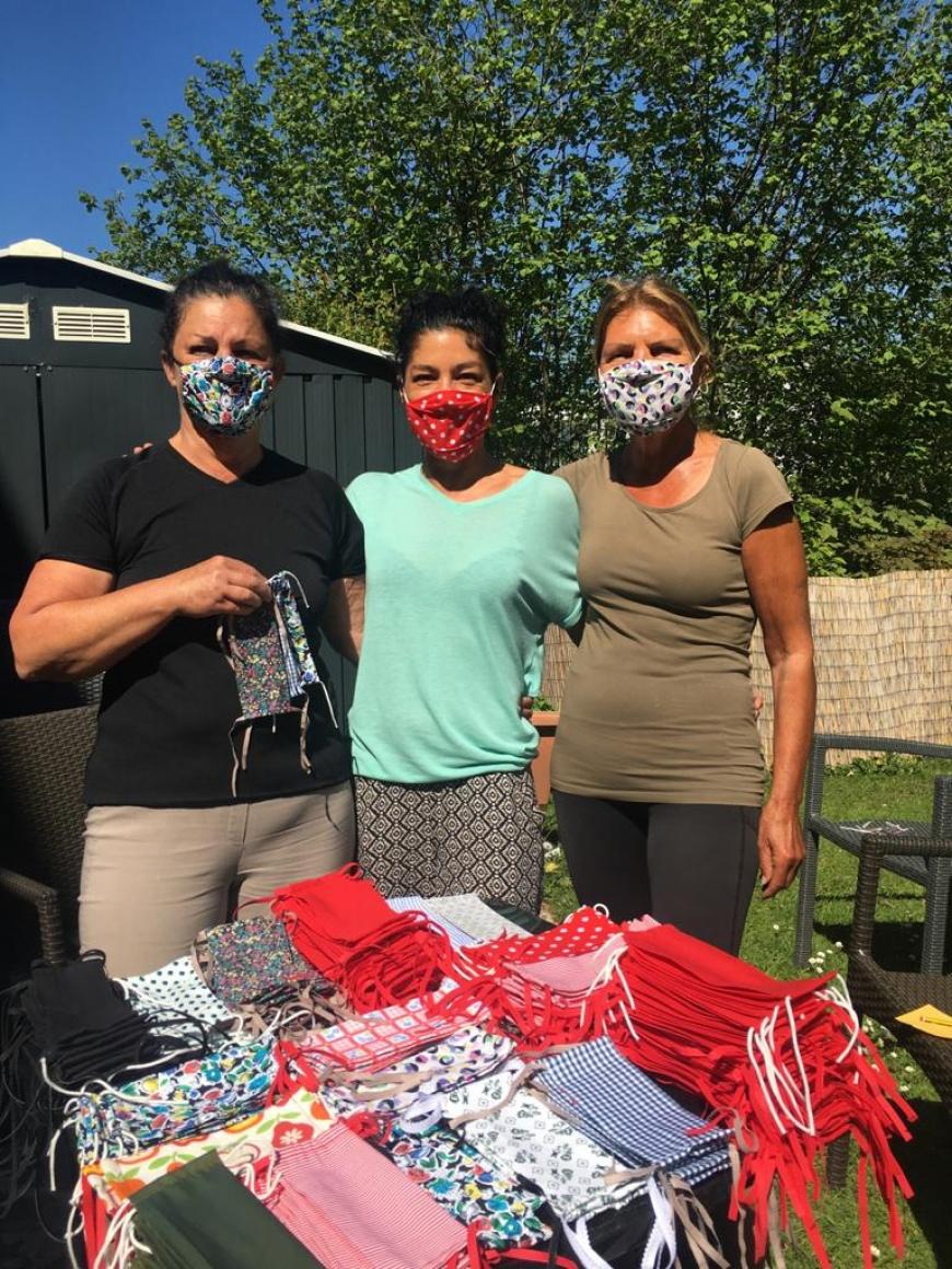 'Tolle Aktion nach Corona-Schutzmaskenverkauf im Panoramacafe Welle am See'-Bild-5