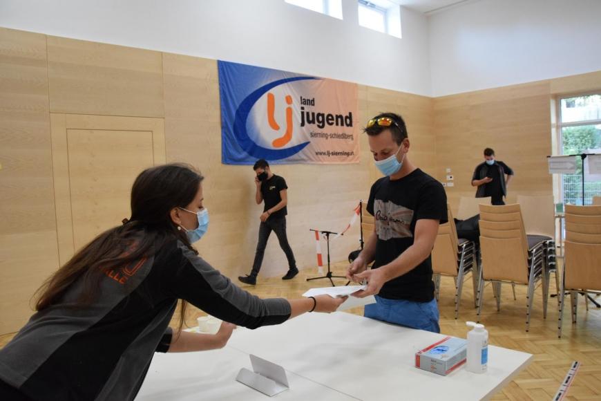 'Landjugend Sierning-Schiedlberg organisiert erfolgreiche Typisierungsaktion'-Bild-8