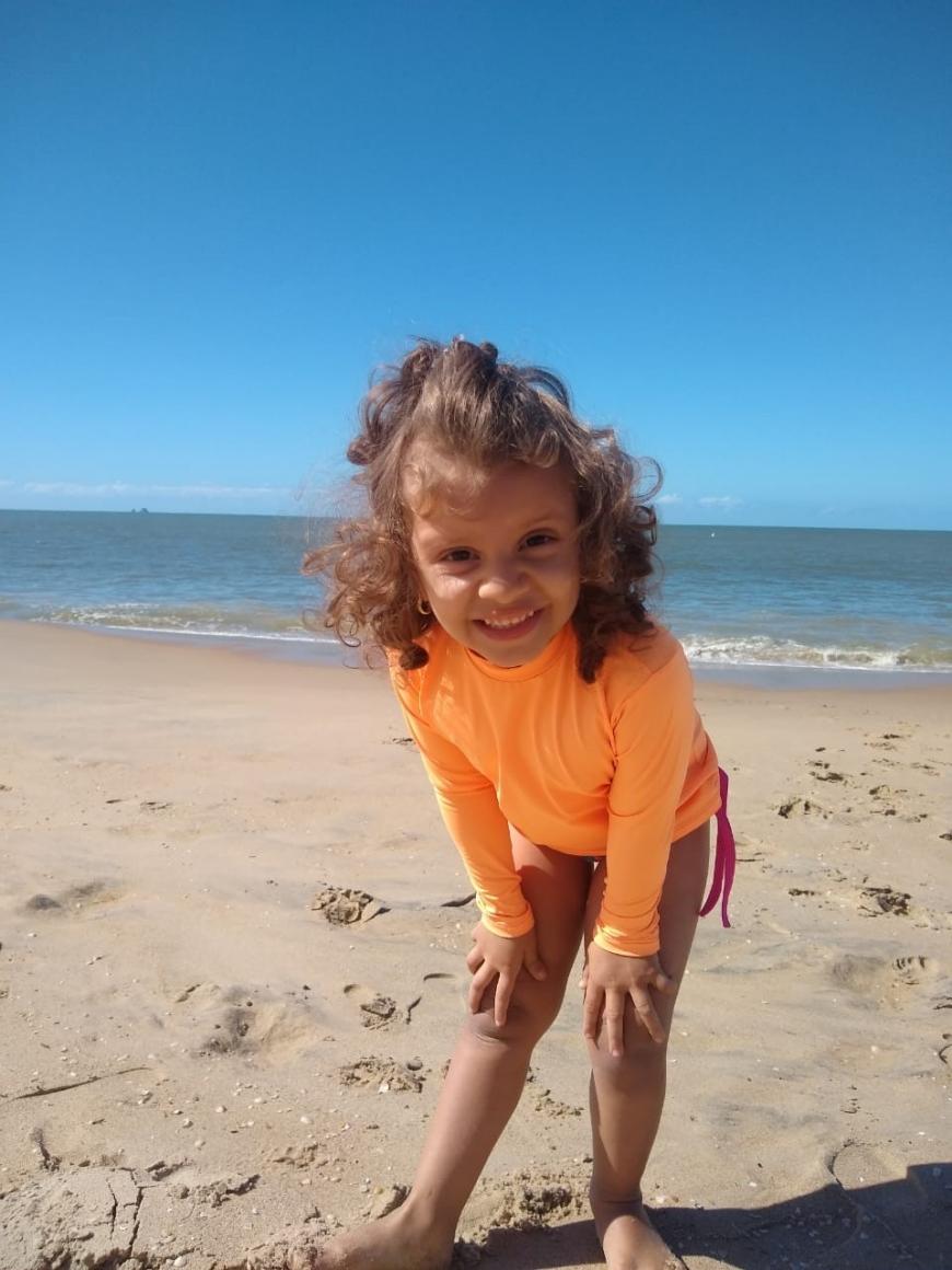 'Spenderin Anja bekommt erstmals Kontakt zur kleinen Geovana aus Brasilien'-Bild-3