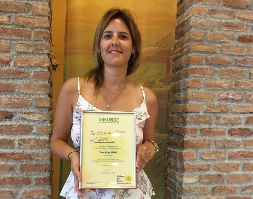 'Spenderin Anja bekommt erstmals Kontakt zur kleinen Geovana aus Brasilien'-Bild-5