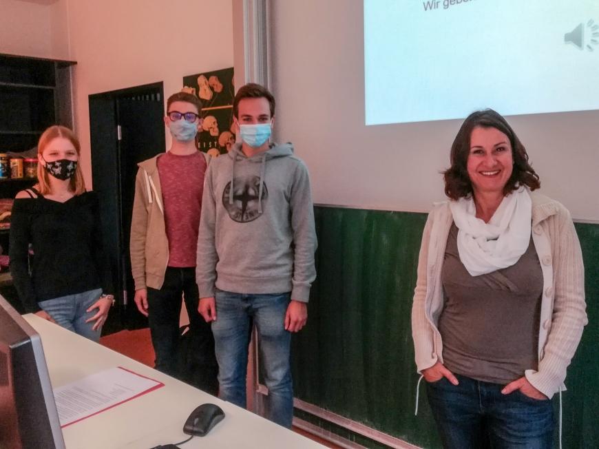 'Schülerin initiiert Projekt im BundesgymnasiumBlumenstraße in Bregenz'-Bild-1