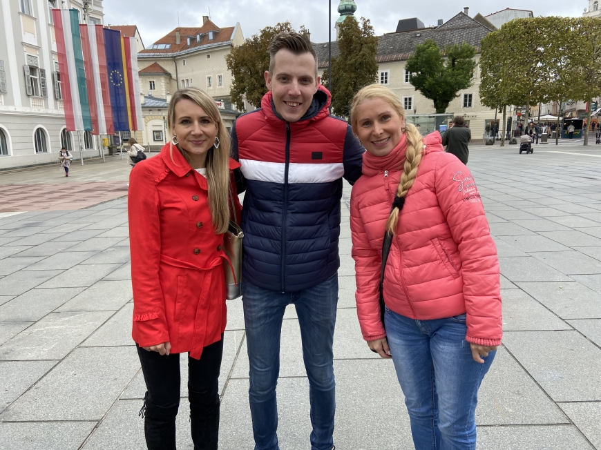 'Erstmaliges Treffen vor laufender Kamera bei Überraschungsbesuch in Klagenfurt'-Bild-5