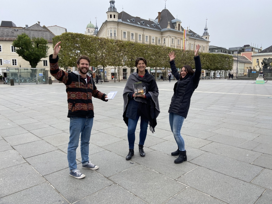 'Erstmaliges Treffen vor laufender Kamera bei Überraschungsbesuch in Klagenfurt'-Bild-7