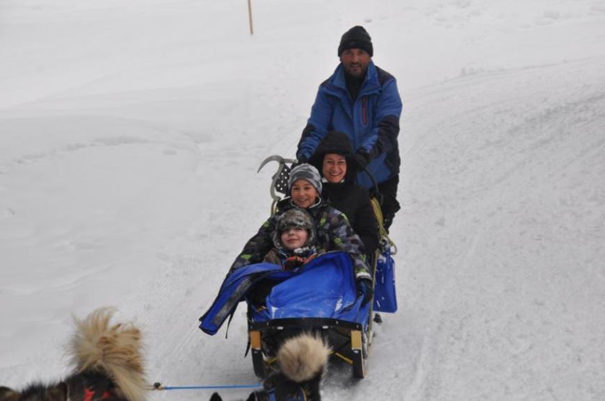 'Husky-Schlittenfahrt mit leukämiekranken Kindern!'-Bild-2