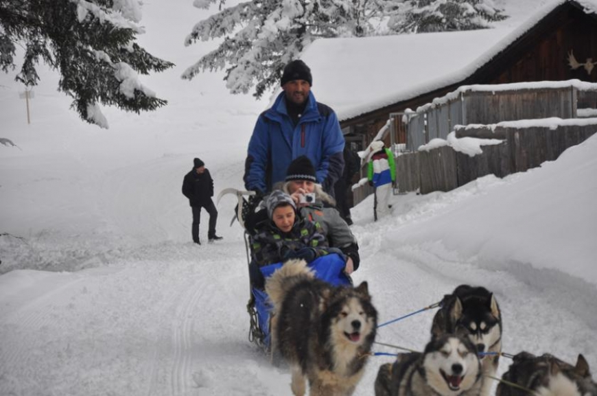 'Husky-Schlittenfahrt mit leukämiekranken Kindern!'-Bild-14