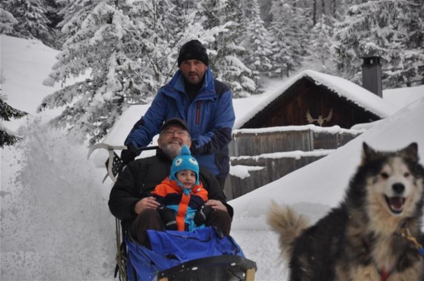 'Husky-Schlittenfahrt mit leukämiekranken Kindern!'-Bild-18