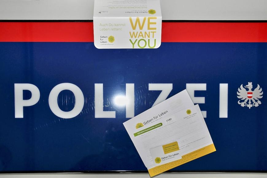 'PolizistInnen vom Posten Bregenz spenden für Leukämiekranke'-Bild-2