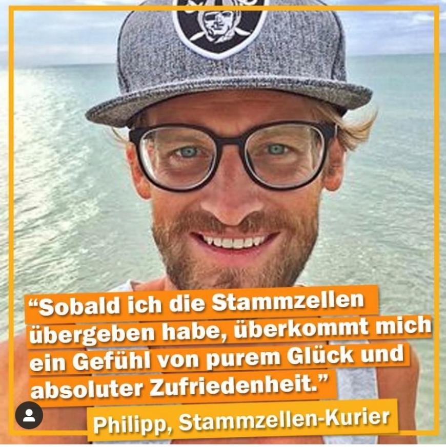 'Philipp ist ehrenamtlicher Stammzellenkurier'-Bild-2