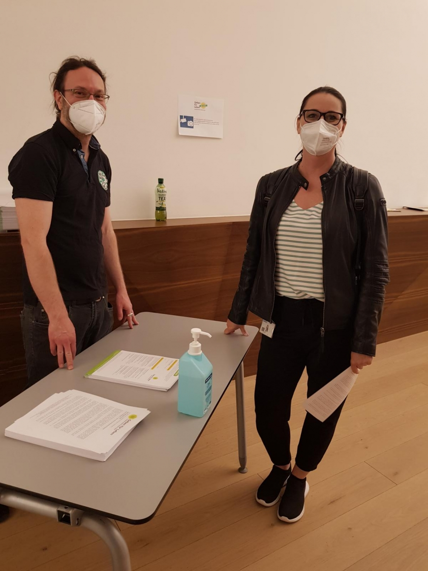 'Typisierungsaktion und tolle Spende durch engagierte Steirer im Grazer Rathaus'-Bild-2