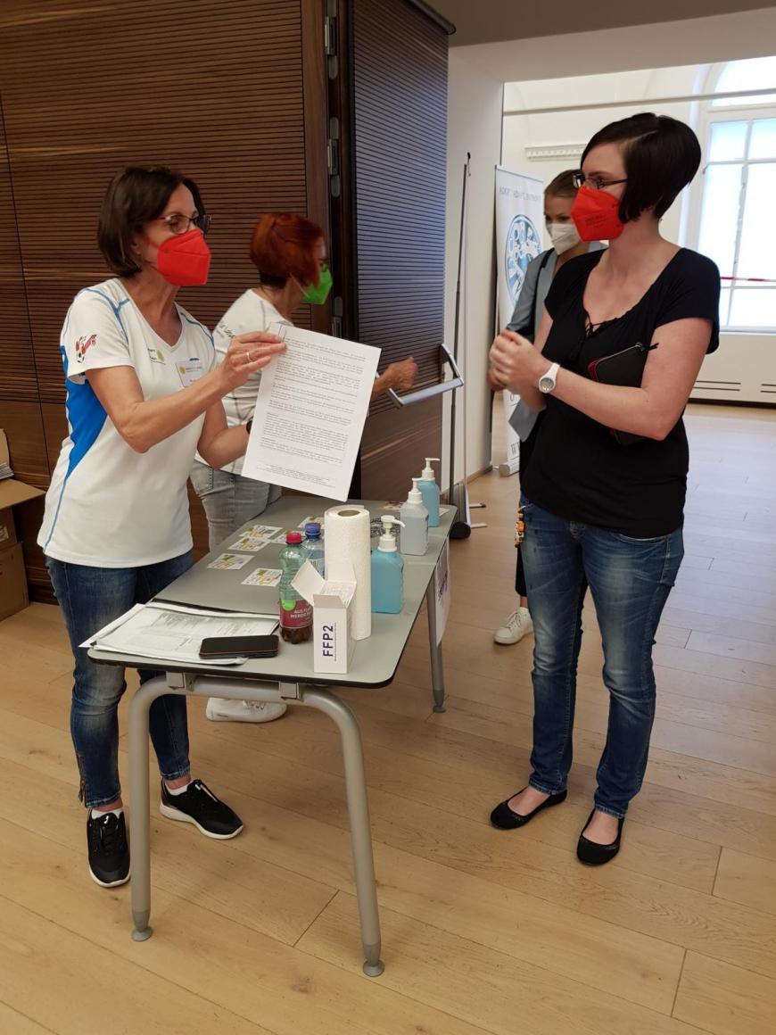 'Typisierungsaktion und tolle Spende durch engagierte Steirer im Grazer Rathaus'-Bild-3