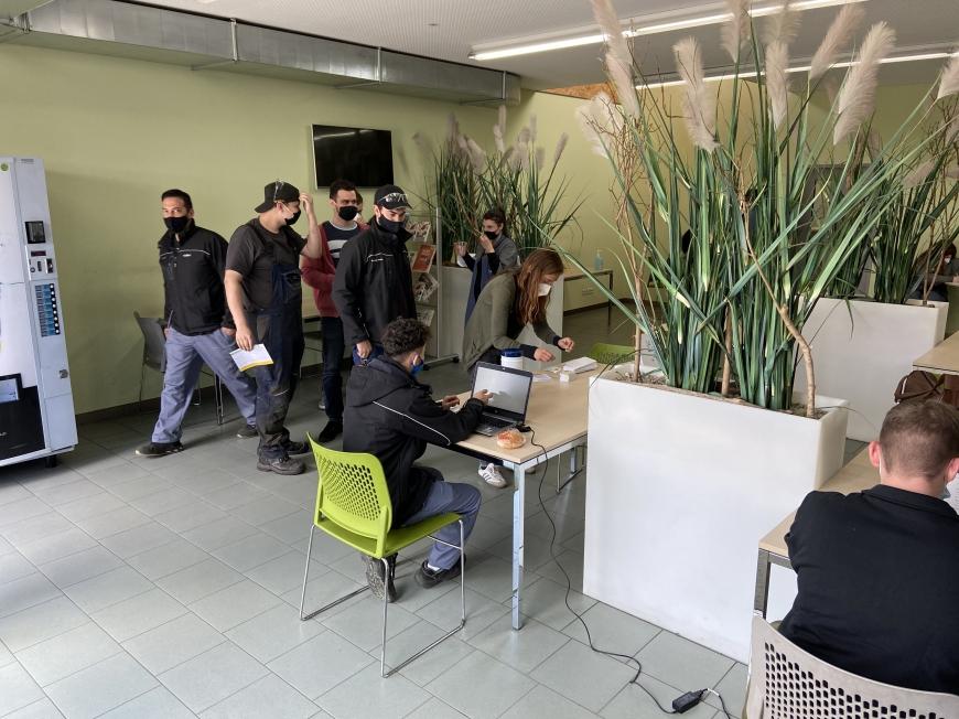 'Firmentypisierung in Hohenems mit hohem Engagement'-Bild-9