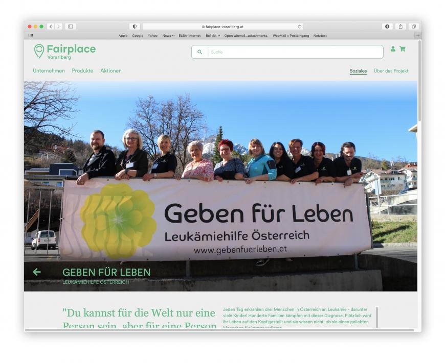 'Regionaler Marktplatz unterstützt Menschen mit Leukämie'-Bild-1