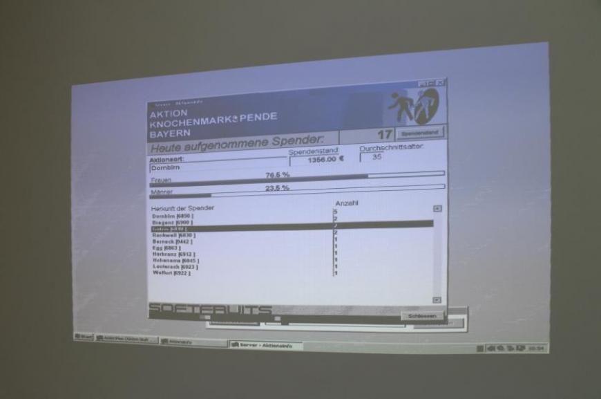 'Eigene Spenderdatei, 783 Typisierungen und Spenden von SchülerInnen der Krankenpflegeschule!!'-Bild-27